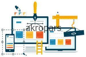 طراحی جدید سایت آکروپارس