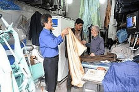 ایمنی در واحدهای خشکشویی و لباسشویی