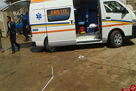 انفجار دیگ بخار در شهرستان پارس آباد