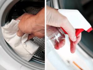نظافت ماشین لباسشویی