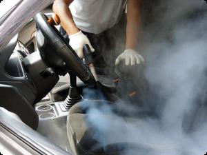 استفاده از بخار شوی برای شستشوی اتومبیل
