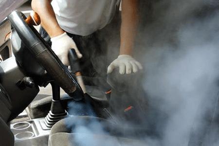 استفاده از بخارشوی برای شستشوی اتومبیل