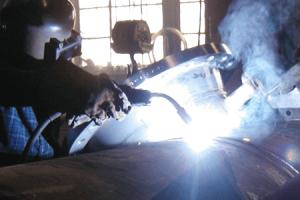 جوشکاری دیگ بخار فولادی