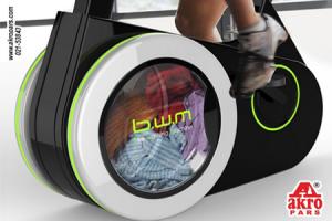ماشین لباسشویی دوچرخه