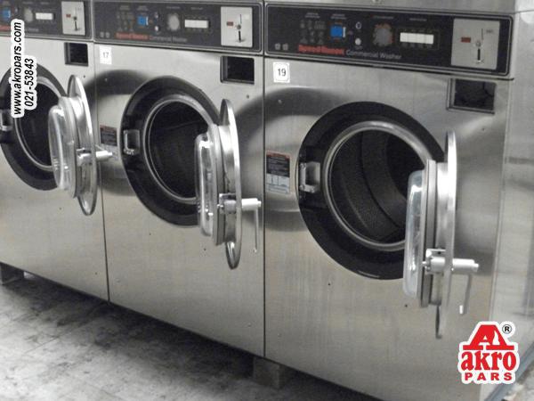 دستگاه لباسشویی صنعتی در لاندری های امروزی