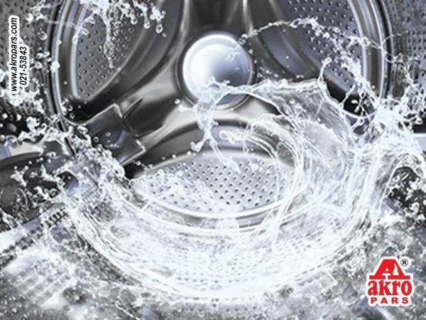 آب سرد در لباسشویی