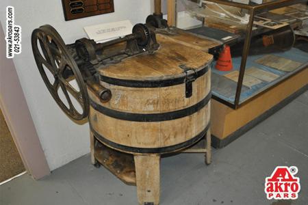 نخستین ماشین لباسشویی دنیا