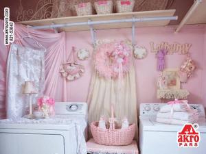 نمونه اتاق لباسشویی در خانه