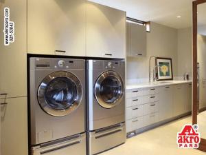 نمونه اتاق لباسشویی (لاندری) در خانه