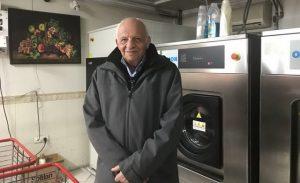 آقای یعقوبی اولین خشکشویی دار تهران