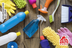 خانه تکانی و خطرات مواد شوینده
