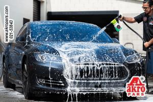 Car Wash With Powder And Shampoo Nano