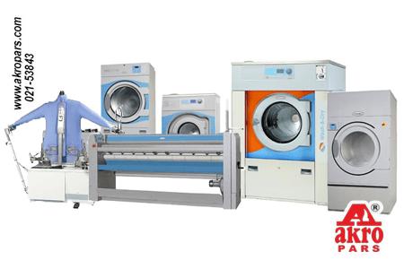 ماشین آلات لاندری (بررسی کامل و نحوه عملکرد هر یک)