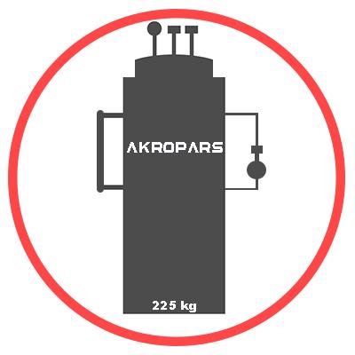 دیگ بخار 225 کیلویی